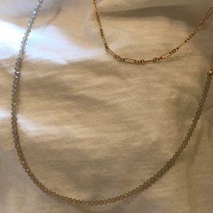 ENewton Gray Opal Necklace